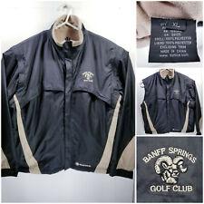 Banff Springs Golf Mens XL Jacket Convertible Vest Full Zip Vented Sunice Storm
