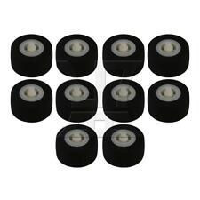 10pcs Rubber 10.8 x 5.4 x 1.5 mm Pinch Roller for Cassette Decks