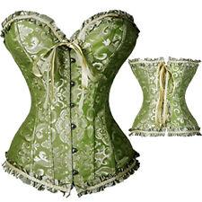 Plus size waist training corsets Basques corset top lace bustier womens Lingerie
