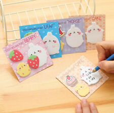 Rabbit Sticker Post It Bookmark Marker Memo Pads Index Sticky Note Guestbook