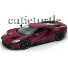 Welly 2017 Ford GT 1:24 Diecast Model Car 24082-4D Burgundy Red