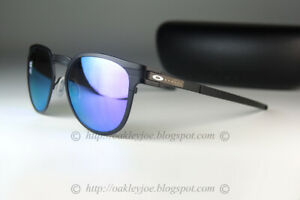 Oakley DIECUTTER POLARIZED Sunglasses OO4137-0655 Satin Black W/Violet Iridium