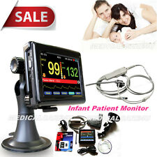 FDA Hand Held Portable ICU patient monitor Infant/Pediatric,PC Software PM60A