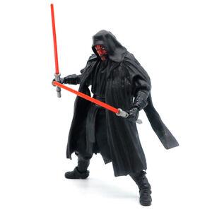 "Star Wars The Black Series Sith Warrior Darth Maul 6"" Action Figure Model No Box"