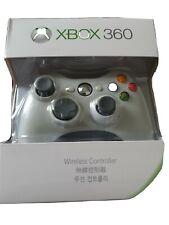 Nuevo BLANCO INALÁMBRICO Game Pad Microsoft XBOX 360 juego controlador Gamepad Joypad