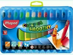 TF Maped Crayon Color'peps Smoothy - 12 Pack