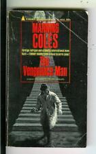 THE VENGEANCE MAN by Coles, Pyramid #X1631 crime spy noir pulp vintage pb