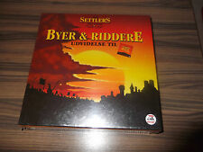The Settlers fra Catán-Byer & Riddere udvidelse Til-dan-spil-en su embalaje original