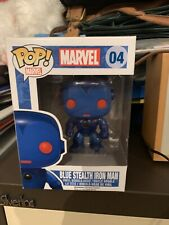 Blue Stealth Iron Man Funko