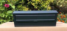 7016 Grigio antracite Cassetta lettere postale incasso parete Attraverso posta