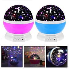 Children Night Light Star Sky LED Projector Rotating Master Magic Kids Lamp UK