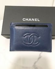 94c6c04b6397 CHANEL Leather Blue Wallets for Women for sale   eBay