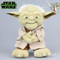 New Star Wars Yoda Plush Toy Soft Stuffed Doll 20cm 8'' Teddy Brinquedos Gift