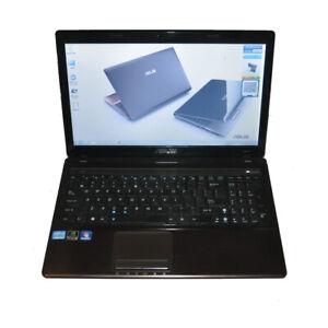 """ASUS K53S 15.6"""" Laptop Intel i7-2670QM CPU 8G RAM 500G HDD Win7 Home Premium"""
