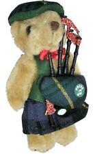 More details for gordon tartan musical teddy bear scottish gift made in scotland
