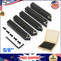 5//16 C6 CARBIDE TIPPED RT LEAD ANGLE TURNING TOOL BIT