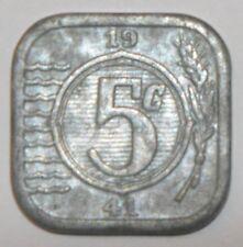 Niederlande 5 Cent 1941