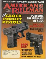 American Rifleman Magazine October 1995 Glock Pocket Pistols, Springfield .45