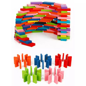 Domino Table Game 100pcs Stacking Tower Tumbling Blocks Toy