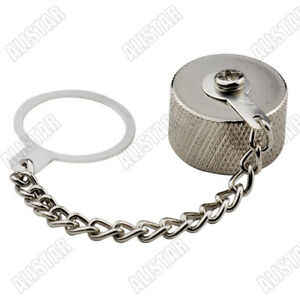 10Pcs Protective Cover Dust Cap For N Female Jack RF Connector With Ring Chain