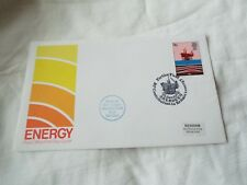 POST OFFICE FIRST DAY COVER ENERGY #6