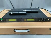 SHURE UHF U4D Wireless Receiver set (KA,KK,S2) with 2 x U2 Microphones (GN)