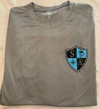 SA Fishing Shirts for Men- Long Sleeve UPF 50 Protection Outdoor T-Shirt Medium