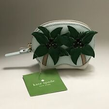 Kate Spade Coin Purse Keychain Breath Of Fresh Air Palm Tree