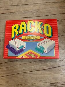 Vintage 1992 RACKO Card Game - 100% Complete EUC Parker Brothers No. 40073