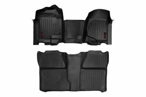 Rough Country Floor Liners for 2007-2013 Chevy/GMC Crew Cab - M-21073