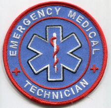 Emergency Medical Technician Patch /// EMT // Rescue // EMS // Vonunteer Fire