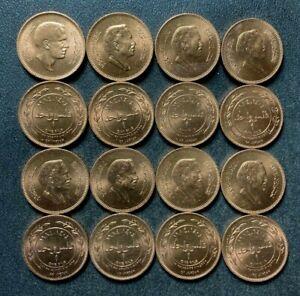 Old JORDAN Coin Lot - 16 COINS - AU/UNC - Dealer Lot Coins - Lot #J17