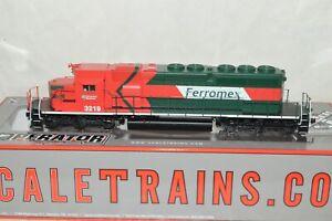 HO scale ScaleTrains Ferromex Mexico Ry EMD SD40-2 locomotive DC (DCC READY)