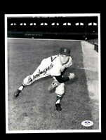 Bill Monboquette PSA DNA Coa Hand Signed 8x10 Photo Autograph