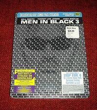 Men in Black 3 *Blu Ray Steelbook* / Best Buy / Brand New / Pls Read Descript.!!