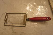 """Vintage Tomato Slicer, Butter Slicer, """"Another EKCO Product"""" ~ Wood Handle!"""