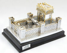 Silver Plating model / Statue Jerusalem israel big Second Temple model judiaca