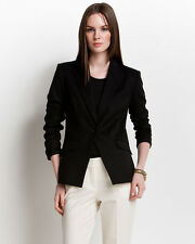 "BRAND NEW, NWT $450 ** THEORY ** Black ""Narolie Elite"" Wool Blazer Jacket Size 4"
