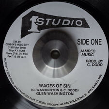 GLEN WASHINGTON - WAGES OF SIN (STUDIO 1) 'SMILE' 1998