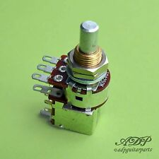 Potentiometer Bourns dualgang Push/Pullover DPDT miniswitch Audio Taper 6,35mm