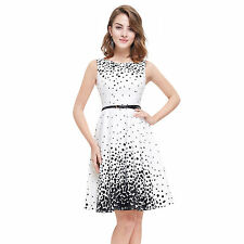Polyester Polka Dot Hand-wash Only Casual Dresses for Women