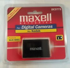 MAXELL DC3773 LITHIUM ION RECHARGEABLE BATTERY FOR KODAK REPLACES KLIC-5001