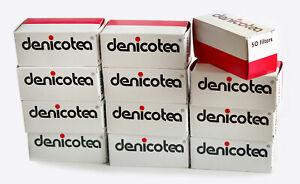 12 boxes x 50 DENICOTEA Cigarette HOLDER filters - 600 filter