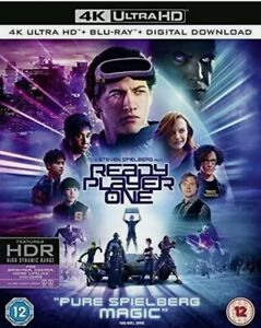 ** SEALED ** Ready Player One 4K Ultra HD Dolby Atmos / Vision Genuine UK Stock