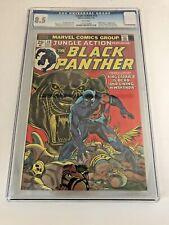Jungle Action 10 CGC 8.5 Featuring Original Jack Kirby Black Panther Design