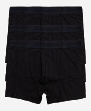 Superdry Mens New 3 Pack Trunks Boxer Shorts Underwear Black