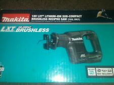 Makita XRJ07ZB Compact Brushless Reciprocating Saw 18V - TOOL ONLY