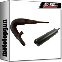 GIANNELLI SCARICO COMPLETO RACING ENDURO 2T NERO YAMAHA DT 80 LC 1998 98