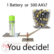 Battery 1.2V AA Rechargeable Battery 1450mAh USB Lithium Polymer Quick Charging
