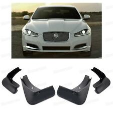 4Pcs Front + Rear Car Mud Flaps Fender Mudguard for Jaguar XF Sedan 2012-2015